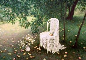 Apples int the Garden